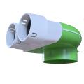 PE-Flex vyústenie 2x75mm