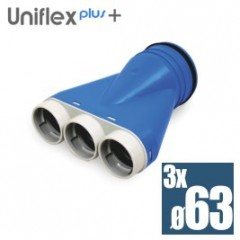 Uniflexplus telo anemostatu set 3*63mm XOS-3*63