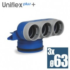 Uniflexplus telo anemostatu set 3*63mm XVC-63