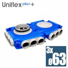 Uniflexplus superplochý kolektor 63mm 18 vývodov TVG-18x63