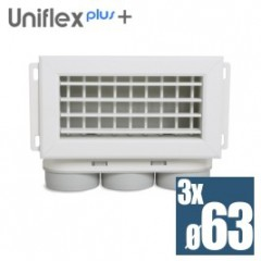 Uniflexplus mriežka set 3*63mm MCVB-63
