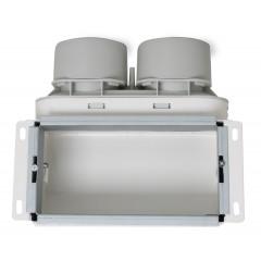 Uniflexplus+ stenová mriežka (telo) 2x75mm MCB-75