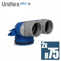 Uniflexplus telo anemostatu set 2*75mm XVC-75