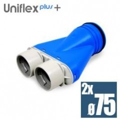 Uniflexplus telo anemostatu set 2*75mm XOS-2*75