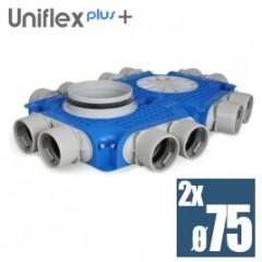 Uniflexplus plochý kolektor 75mm 12 vývodov TVG-12x75