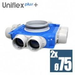 Uniflexplus plochý kolektor 75mm 8 vývodov TVG-S-8x75