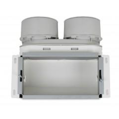 Uniflexplus+ stenová mriežka (telo) 2x90mm MCB-290